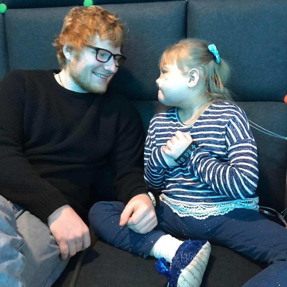 Little Girl Ed Sheeran Donated His Guitar To Has Died 18301308 1882155475330472 3395383159368569284 n