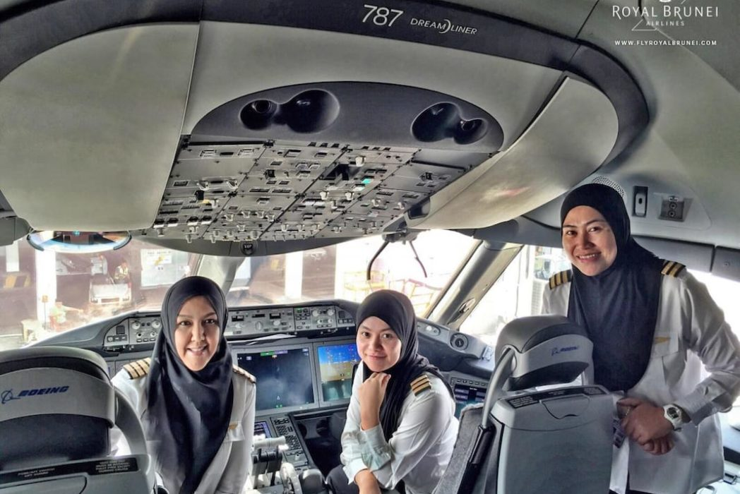 All Female Crew Landed Plane In Country They're Not Allowed To Drive In AIRLINES 1048x700