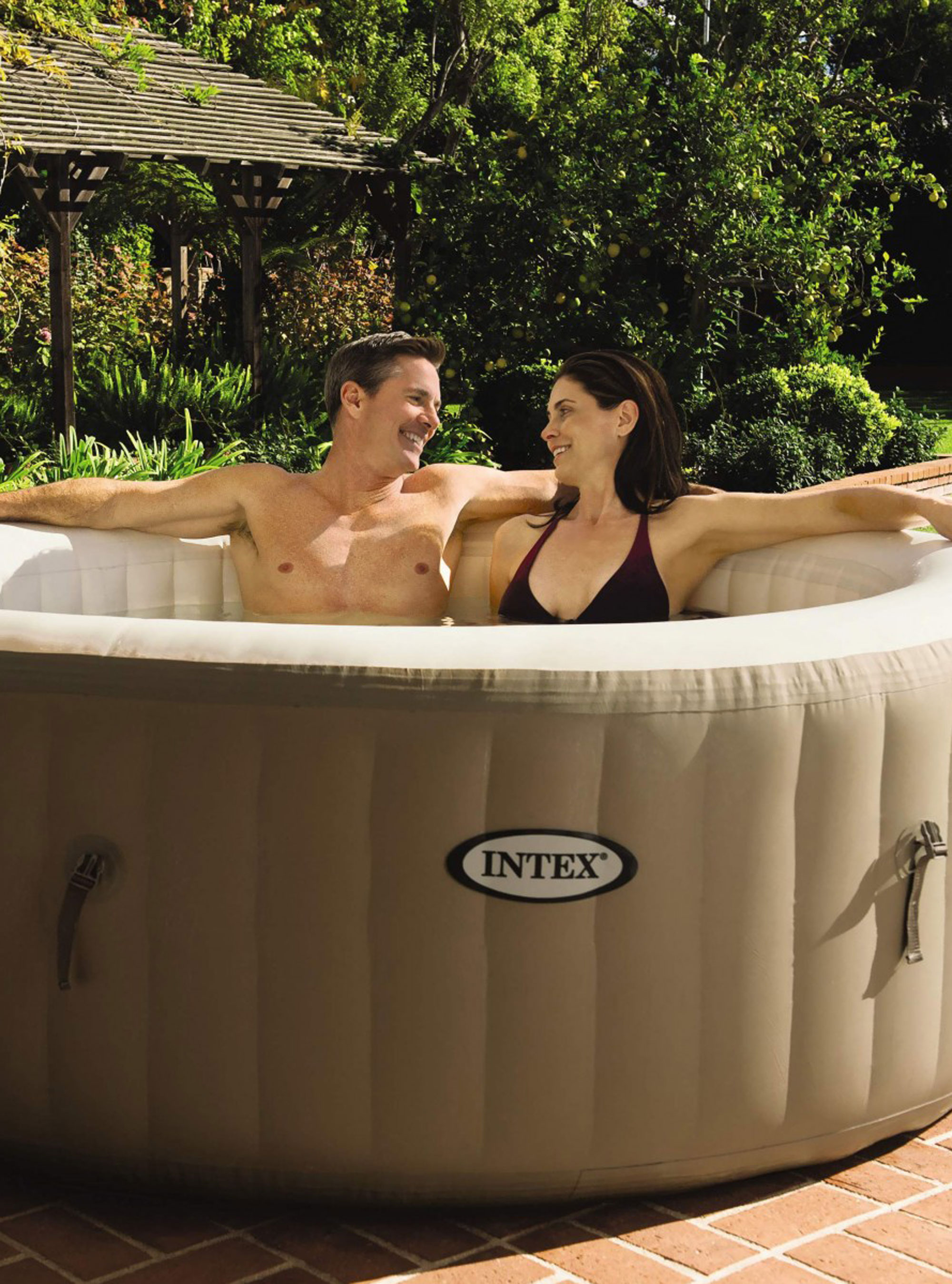 Amazon Selling Huge Inflatable Hot Tub In Cheapest Ever Prime Day Sale Aldi hot tub