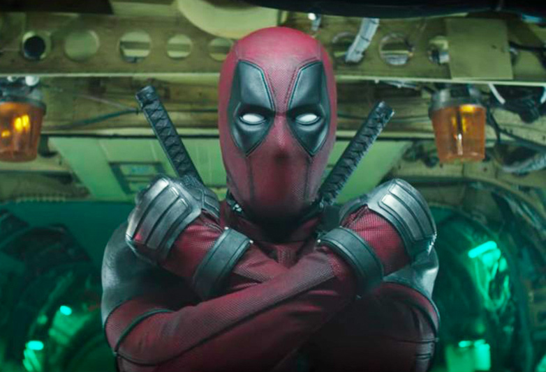 Deadpool in Deadpool 2