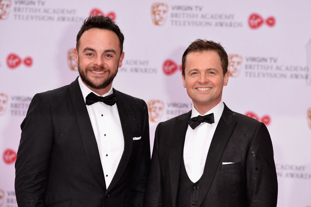 ant dec bafta television awards