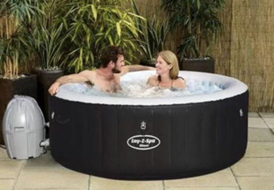 B M Is Selling An Inflatable Hot Tub And It S Super Cheap