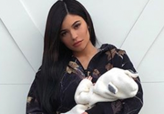 kylie jenner stormi baby