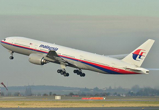 MH370 Investigators Think They've Finally Solved Mystery Behind Missing Plane - stock image of a Malaysia Airlines Boeing 767