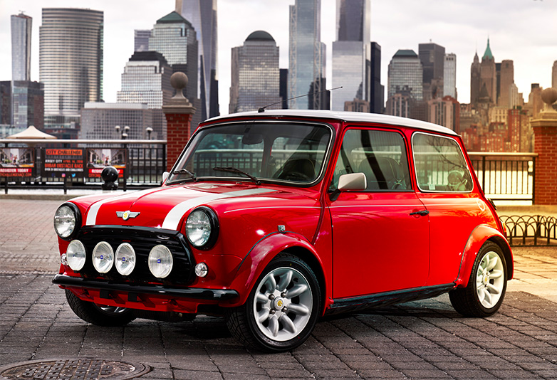 You Can Now Buy An Electric Classic Mini Car
