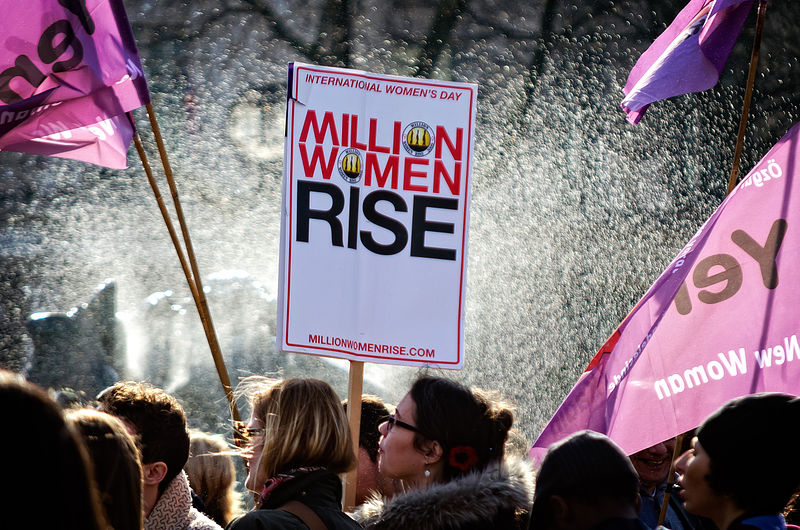 Heres What Would Actually Happen If Men Disappeared From Earth Million Women Rise Rally at Trafalgar Square London