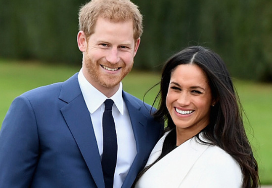 Prince Harry and Meghan Markle, announce wedding