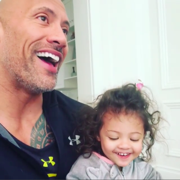 The Rock Gave His Daughter The Perfect Lesson On International Womens Day Screen Shot 2018 03 09 at 11.26.15