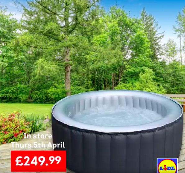 Lidl Releasing Hot Tub Cheaper Than Aldi 39 S