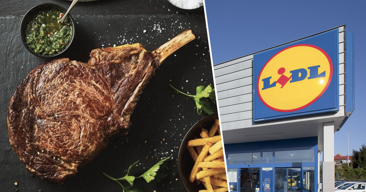 Lidl Launches First Ever Supermarket 1.1kg Deluxe Cowboy Steak cowboysteak 1