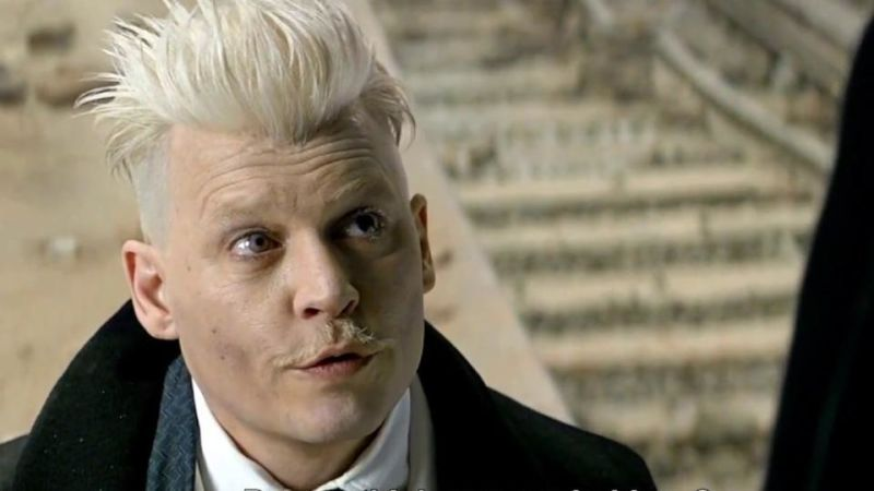 Johnny Depp in Crimes of Grindelwald