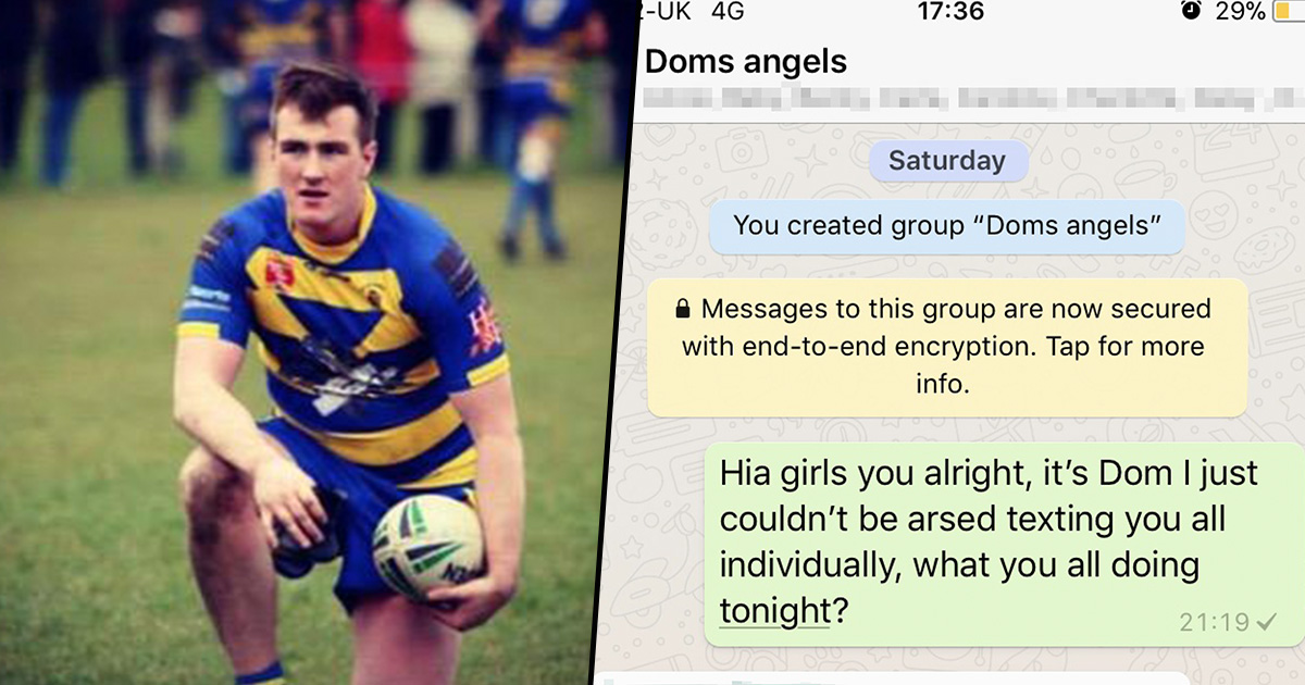 Guy Adds Every Girl In His Phonebook To One WhatsApp Group, Gets