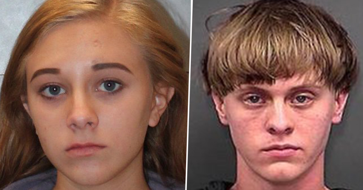 Dylann Roof's Sister Arrested After Bringing Weapons to School