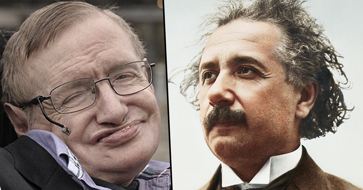 Stephen Hawking Died On Einstein's Birthday Because Everything In The Cosmos Is Connected