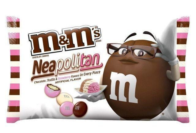 Neapolitan Ice Cream M&Ms Are Now A Thing mandm1