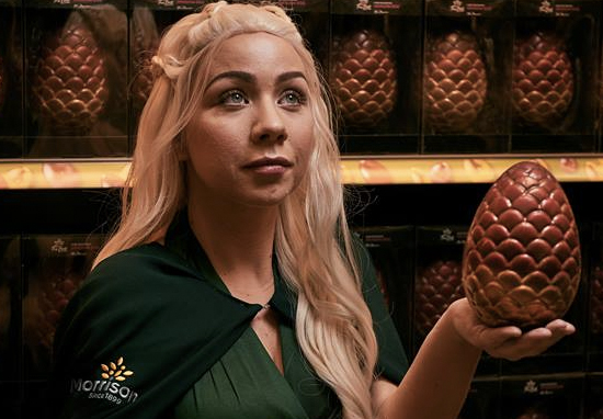 Morrisons Is Selling Game Of Thrones Easter Eggs morrisons game thrones egg