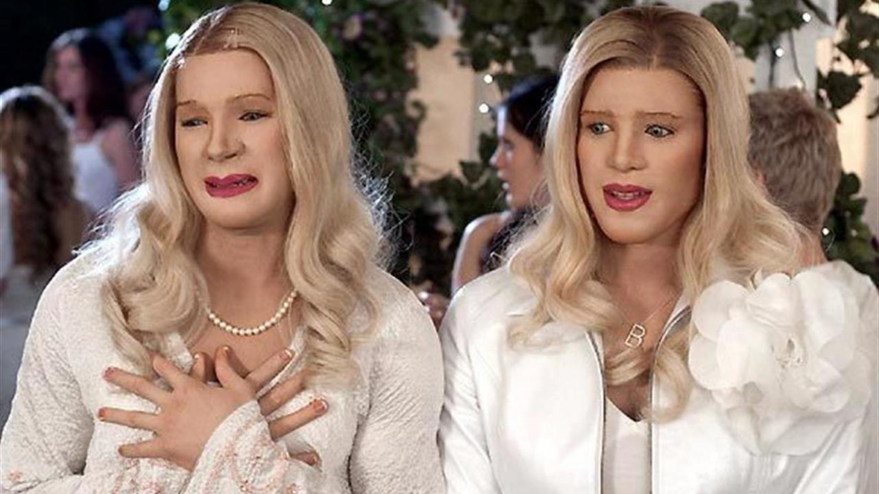 Characters of white chicks, girls who cum alot