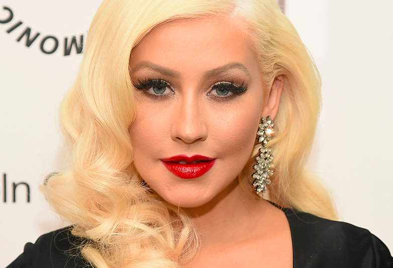 Christina Aguilera Looks Unrecognisable In Makeup Free Photoshoot