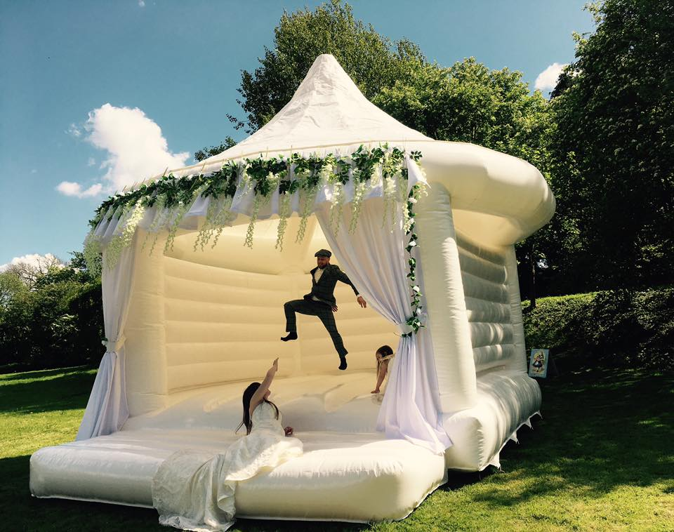 Wedding Bouncy Castles Will Make Your Big Day Extra Special