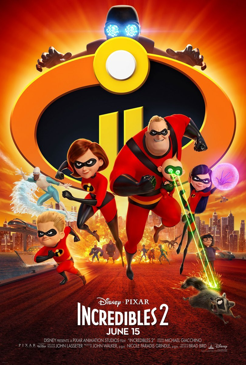 Disney Pixar's Incredibles 2