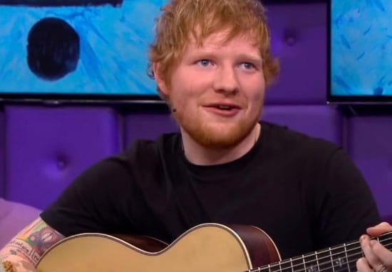 Ed Sheeran Proves You Can Play Every Pop Song With Just Four Chords