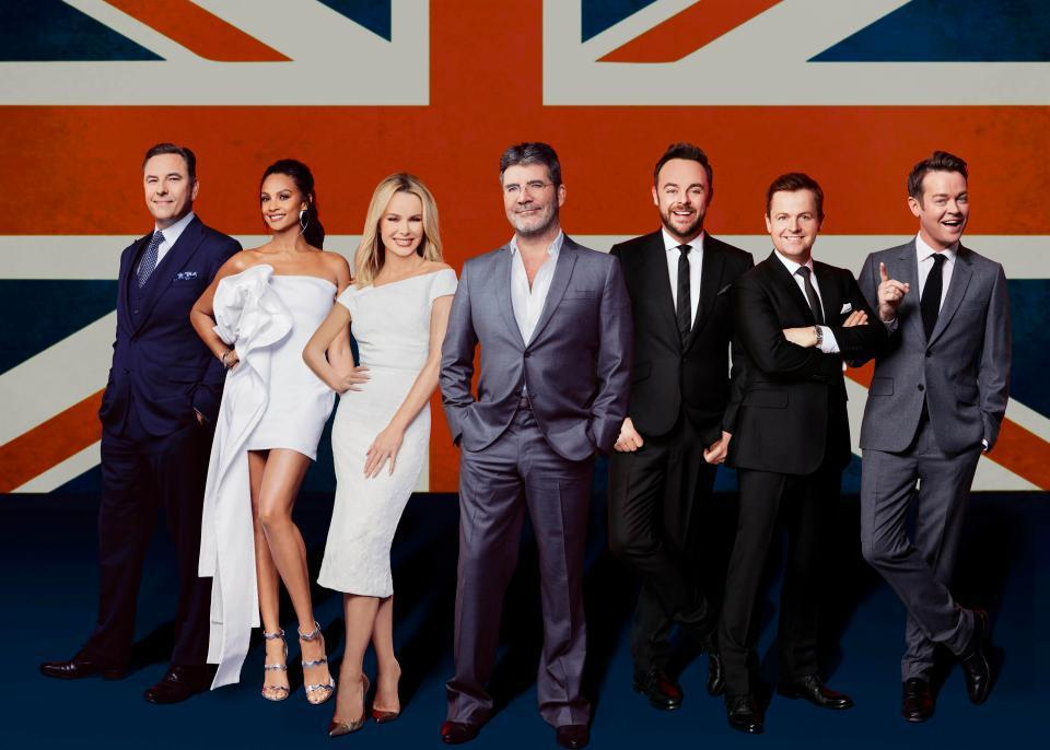 britain's got talent itv cast photo