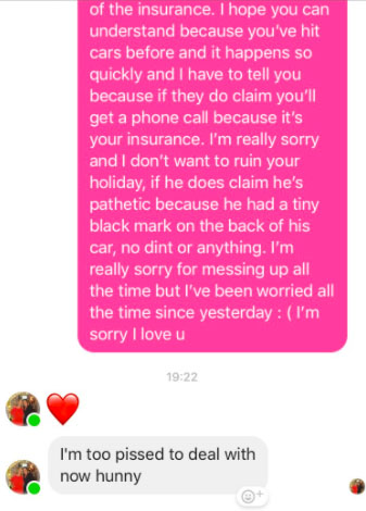 Girl's Mum Has A Priceless Response After She Crashes Her Car
