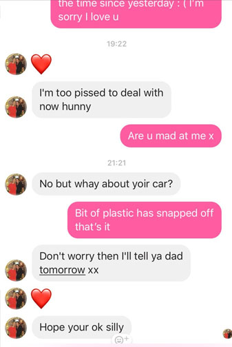 Girl's Mum Has A Priceless Response After She Crashes Her Car UNILAD