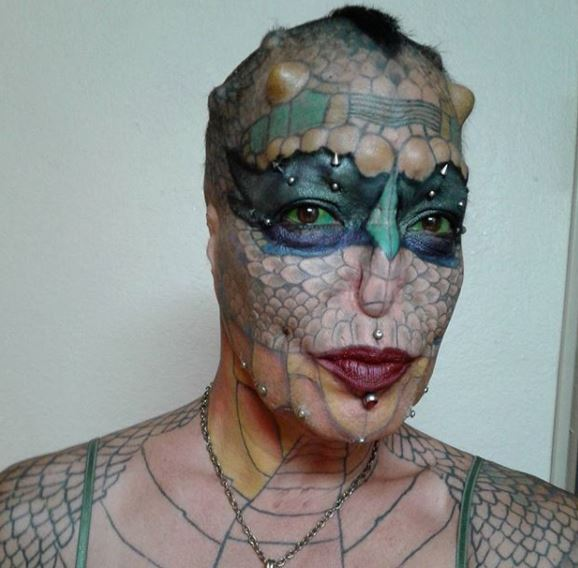 Trans Species Woman Spends £40,000 To Turn Herself Into A Dragon EVA