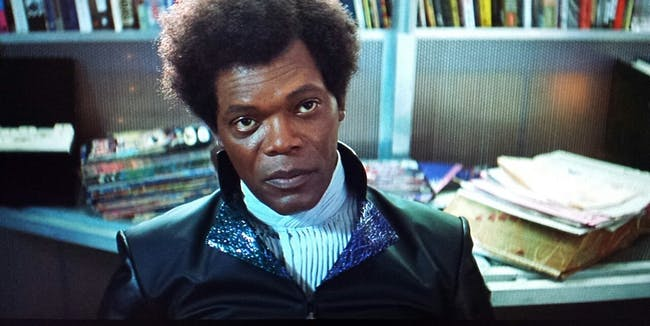 mr. glass unbreakable samuel l. jackson