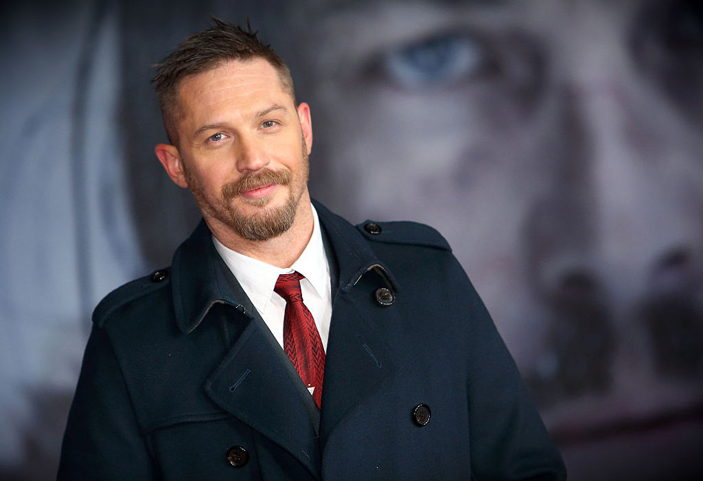 Tom Hardy Made CBE By The Queen