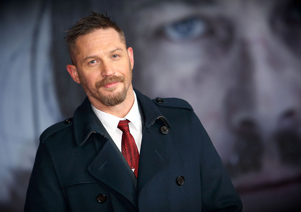 Tom Hardy Made CBE By The Queen For Services To Drama