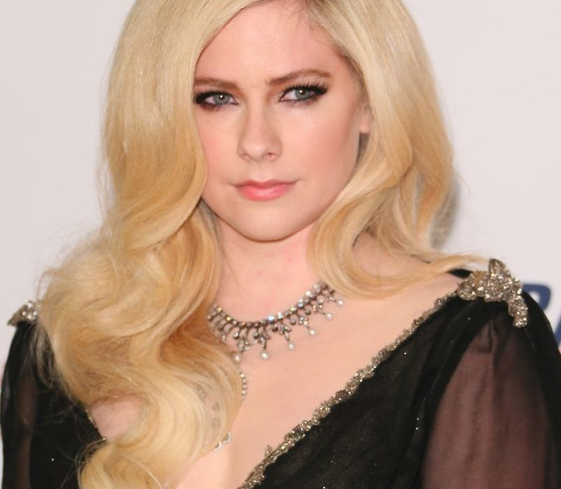 avril lavigne 2018 red carpet MS gala