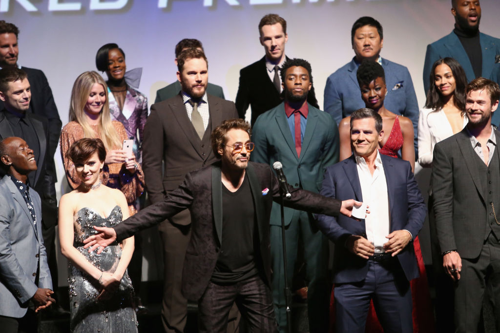 Robert Downey Jr's Emotional Speech From Infinity War Premiere Goes Viral
