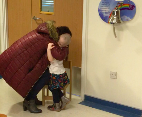 3 Year Old Cancer Patient Getting All Clear Brings Whole Hospital To Tears Meadow3
