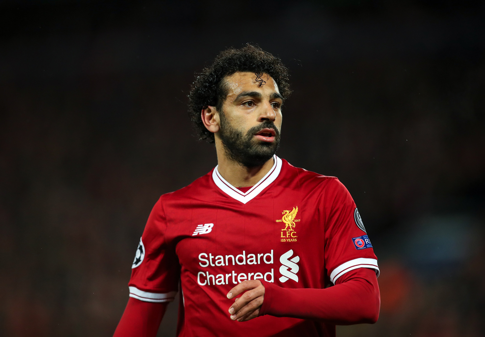 Mohamed Salah the Liverpool striker was injured in the Champions League final