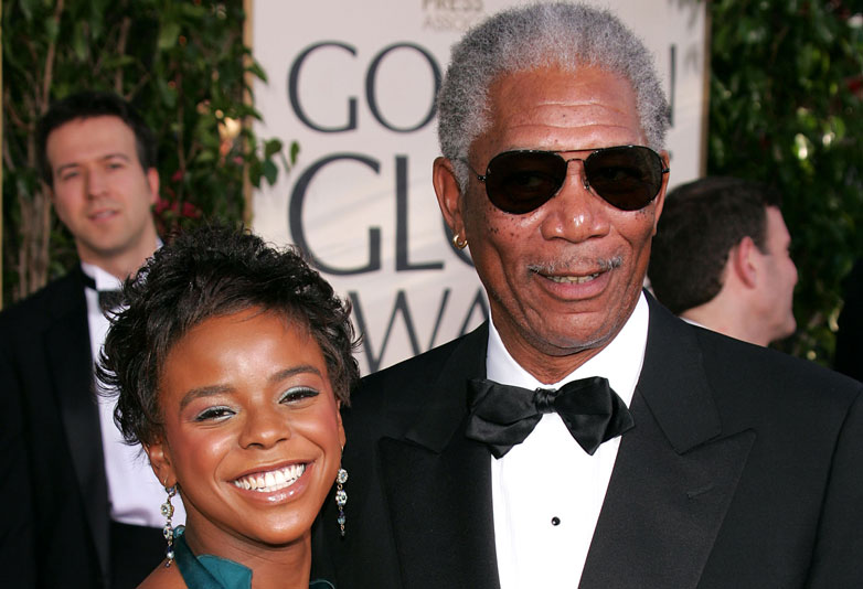 Morgan Freemans Controversial Comments To Women Caught On Camera Morgan Freeman and Granddaughter