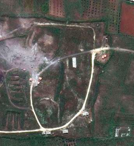 Before And After Pictures Show Devastating Impact Of Airstrikes In Syria Screen Shot 2018 04 15 at 09.22.48 430x468