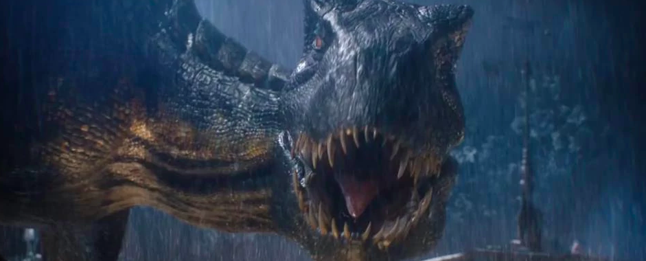 The Indoraptor from Jurassic World: Fallen Kingdom