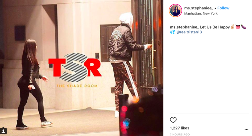 instagram tristan thompson stephanie cheating allegations