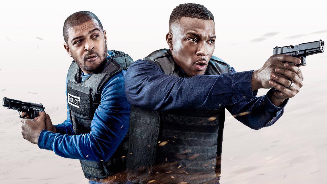 Noel Clarke and Ashley Walters star in London crime show Bulletproof on Sky from May 15