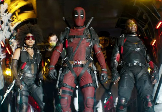 Still from Deadpool 2 (Ryan Reynolds)
