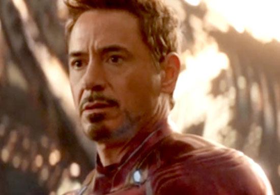 Iron Man in Avengers: Infinity War