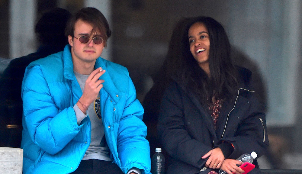 Malia Obama with her boyfriend Rory Farquharson