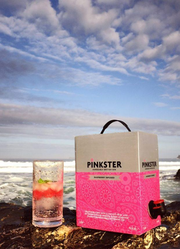 Pinkster Release 3 Litre Box Of pink Gin