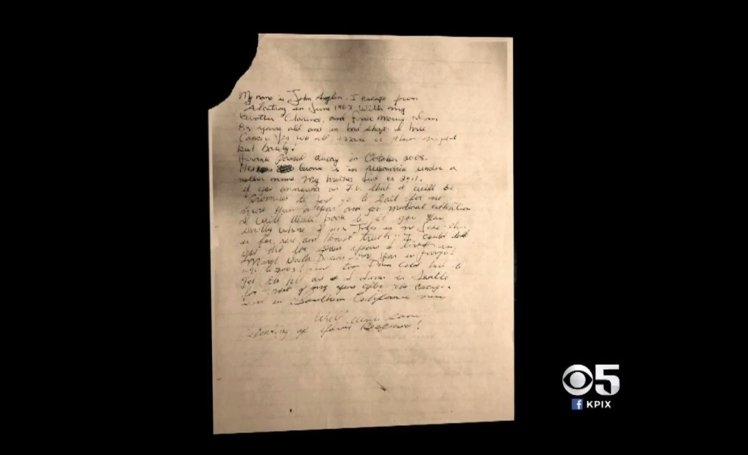 Letter Allegedly Written By 1962 Alcatraz Island Escapee Surfaces