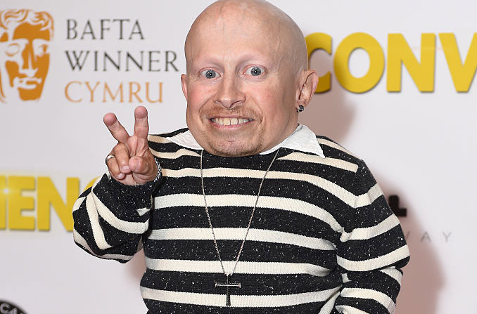 Verne Troyer at a red carpet event
