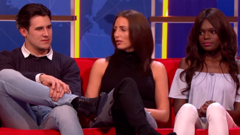 Man Says Ex Is Better Looking Than His Girlfriend On TV And It's Horribly Awkward