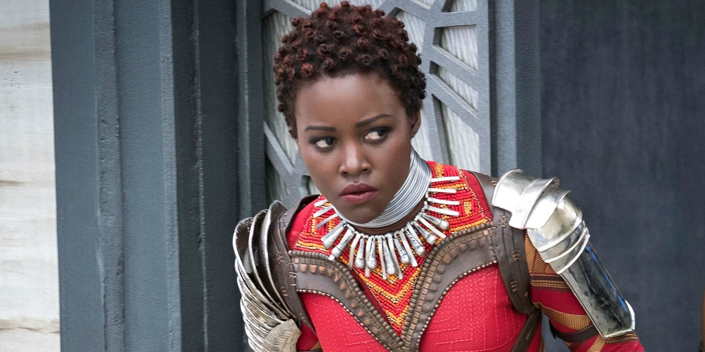 Lupita Nyong'o in Marvel's Black Panther