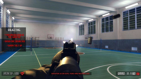 Horrendous New Video Game Allows Kids To Shoot Classmates In School Active shooter video game